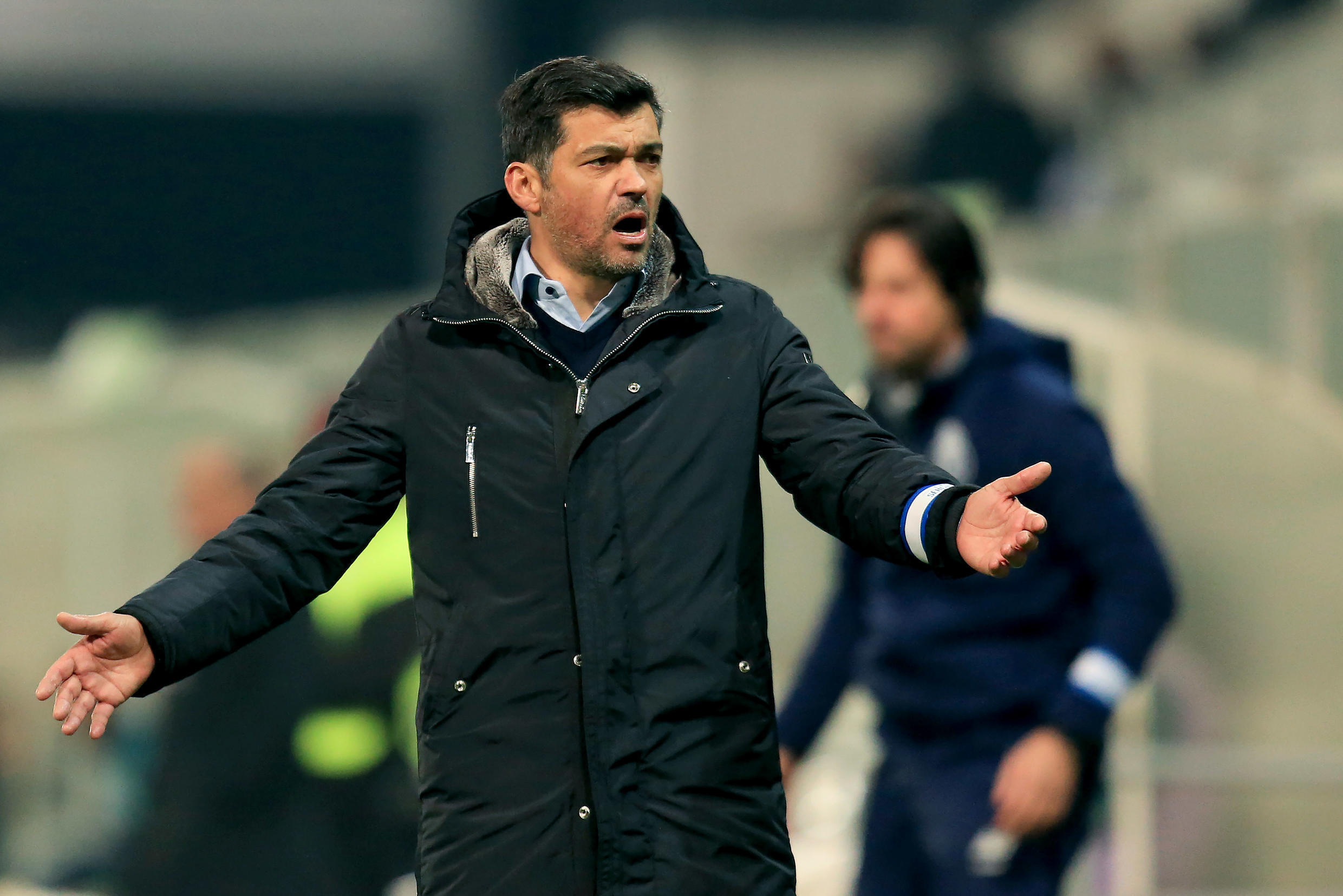 Sergio Conceicao led Porto to the top of the Primeira Liga before play was suspended due to the coronavirus pandemic.