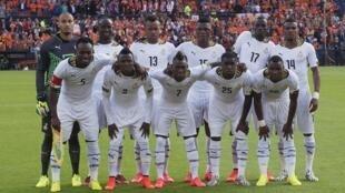 'Yan wasan kasar Ghana