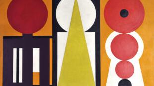 """""""Trigo II"""", Museo de Arte Moderno y contemporáneo de Lieja."""