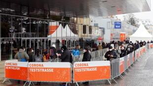 Autriche - Vienne - coronavirus - test