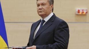Виктор Янукович, Ростов-на-Дону, 11 марта 2014