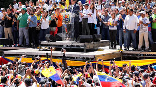 Хуан Гуайдо объявил себя временно исполняющим обязанности президента 24 января