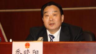 前全国人大法工委主任乔晓阳,日期不详。