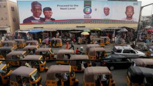 A Kano, dans le nord du Nigeria, au lendemain du report de l'élection présidentielle, le 17 février 2019.