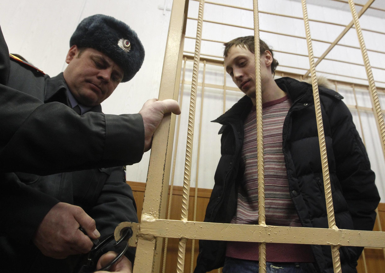 O bailarino do Teatro Bolshoi, Pável Dmitritchenko, é um dos suspeitos indiciados nesta quinta-feira na Rússia.
