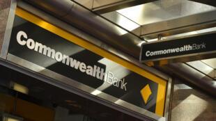Un comptoir de la banque australienne Commonwealth à Sydney, le 8 août 2017.