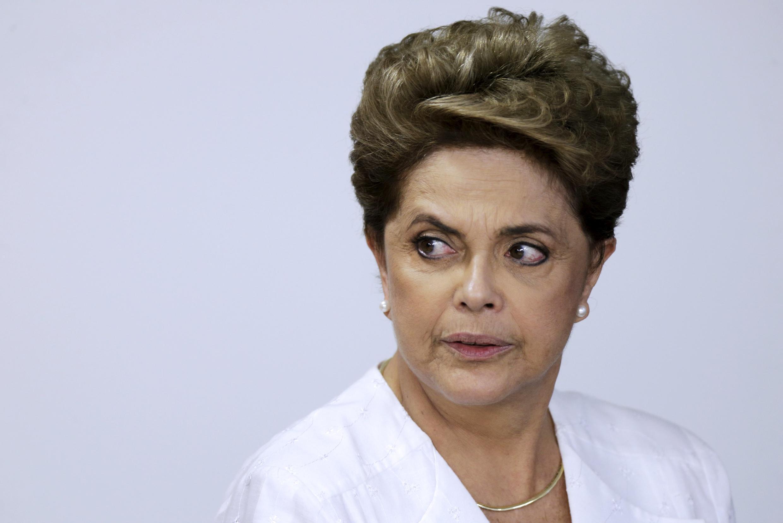La présidente du Brésil Dilma Rousseff.