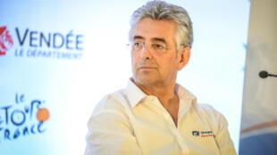 Marc Madiot, manager général de l'équipe Groupama-FDJ.