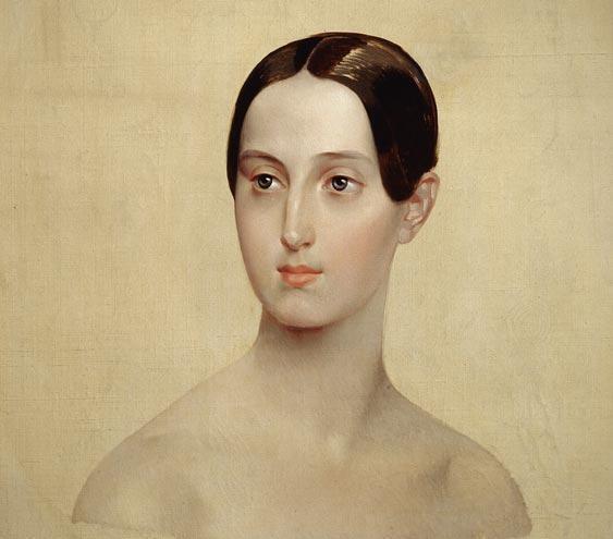Карл Брюллов. Великая княгиня Мария Николаевна. 1837 г.