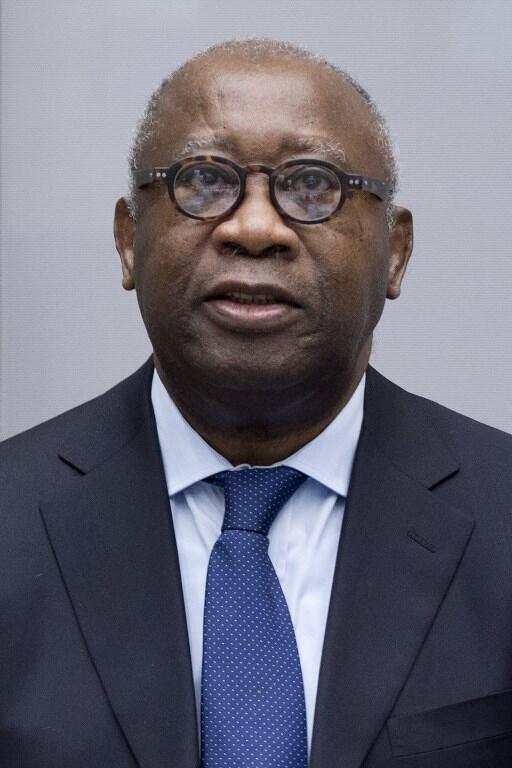 Laurent Gbagbo, antigo Presidente da Costa do Marfim. 28 de Janeiro de 2016, primeiro dia de julgamento no TPI.