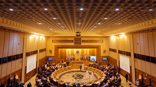 Réunion au Caire des ministres des Affaires étrangères de la Ligue arabe, dimanche 19 novembre 2017.