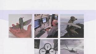 Couverture du livre «Les drones aériens», de Lionel Chauprade.