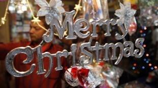 ពិធីបុណ្យ Christmas កំពុងពេញនិយមខ្លាំងសម្រាប់ពលរដ្ឋខ្មែរមួយចំនួនក្នុងពេលបច្ចប្បន្ន