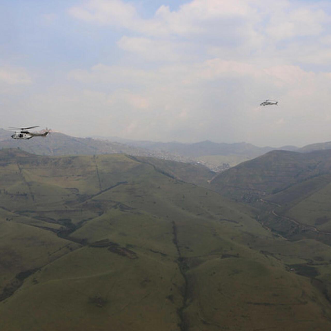 Walikale : le comité de surveillance des zones minières visite le site minier de Kalay-boeing