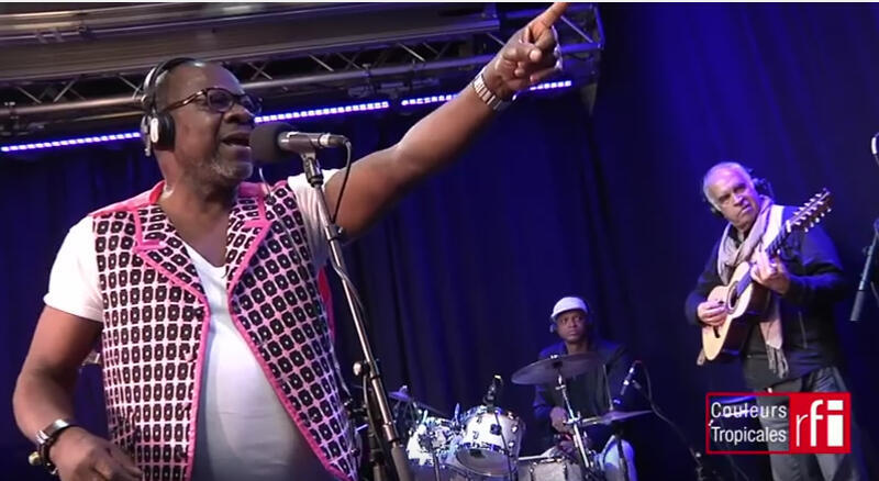 Papa Wemba on RFI's Couleurs Tropicales music programme  in 2014