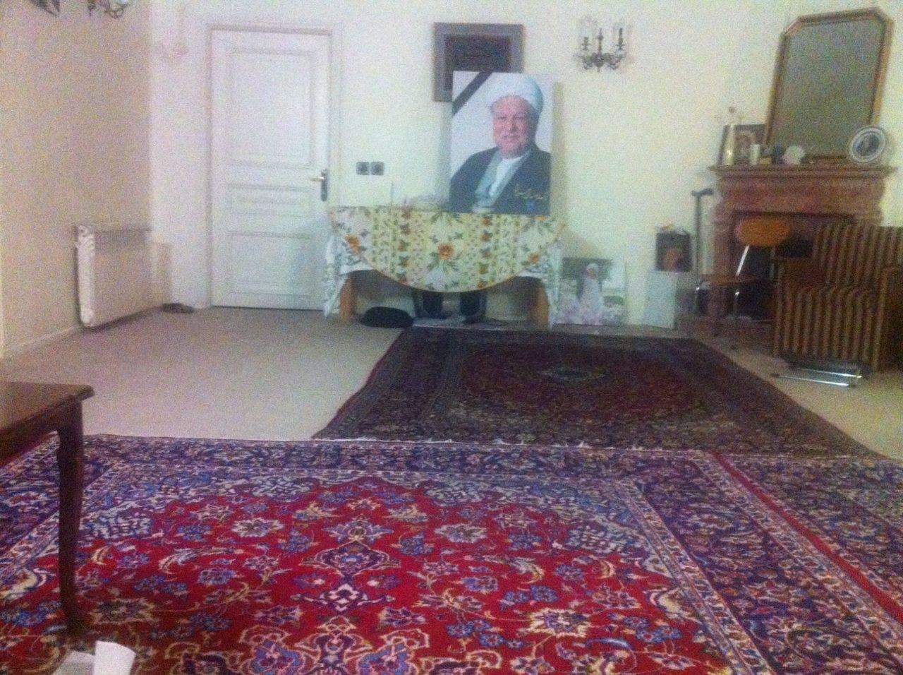 اتاق منسوب به هاشمی رفسنجانی