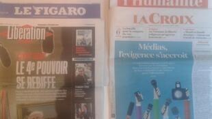 Os jornais franceses desta sexta-feira, dia 3 de Fevereiro de 2017.