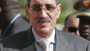 Ely Ould Mohamed Vall, ancien chef d'Etat mauritanien. Actuellement leader de l'opposition. Ici, lors du 23è sommet France-Afrique en décembre 2005 à Bamako au Mali.