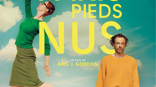 Détail de l'affiche de «Paris pieds nus», de Dominique Abel et Fiona Gordon.