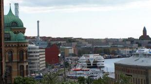 Vista da cidade de Gotemburgo, na Suécia.