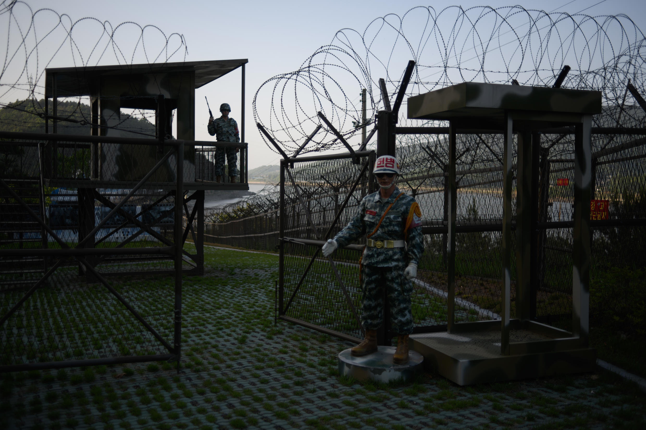The Demilitarized Zone dividing North and South Korea is one of the most fortified places in the world