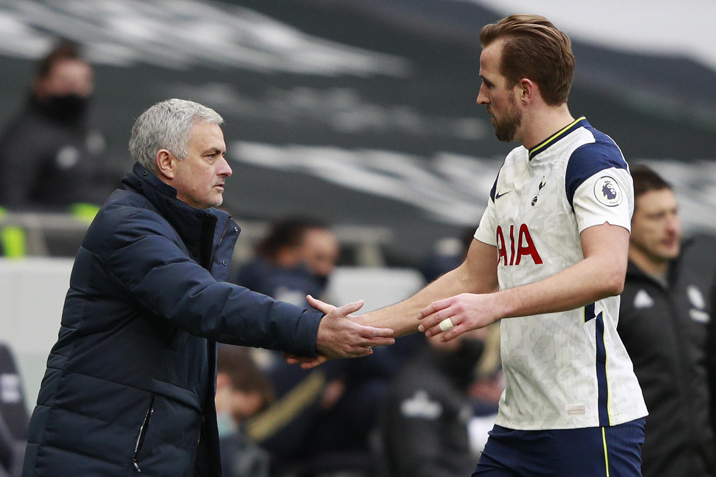 Jose Mourinho says he will not play the game of speculating over Tottenham Hotspur captain Harry Kane's future after being linked with Manchester City