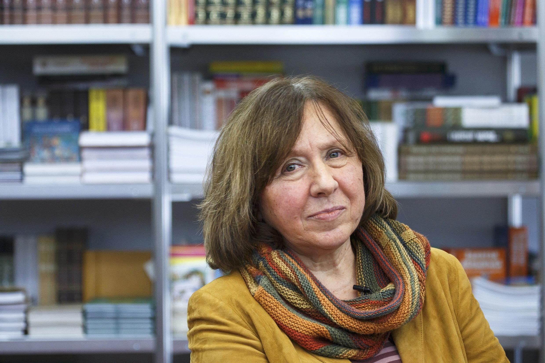 La escritora bielorrusa Svetlana Alexievich.