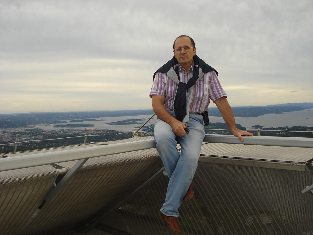 """Оюб Титиев, глава грозненского """"Мемориала"""". Фото со страницы в """"Одноклассниках"""""""