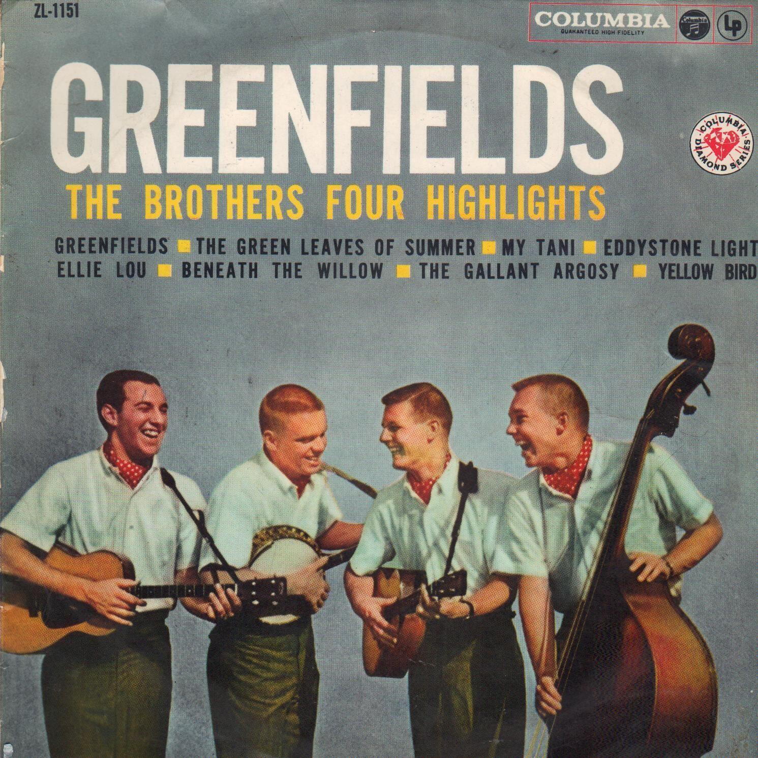 Đĩa nhạc Green Fields của nhóm The Brothers Four