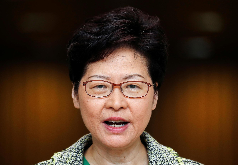 Lãnh đạo Hồng Kông Lâm Trịnh Nguyệt Nga. Ảnh chụp ngày 26/09/2019.