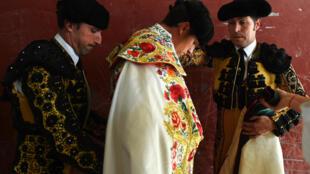El torero español Daniel Luque, este 21 de septiembre en Nimes.