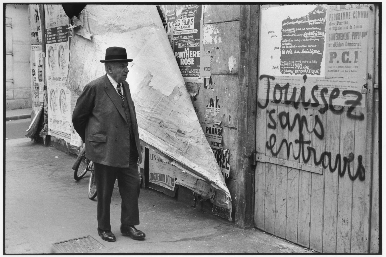 Rua de Vaugirard, Paris, França, maio 1968