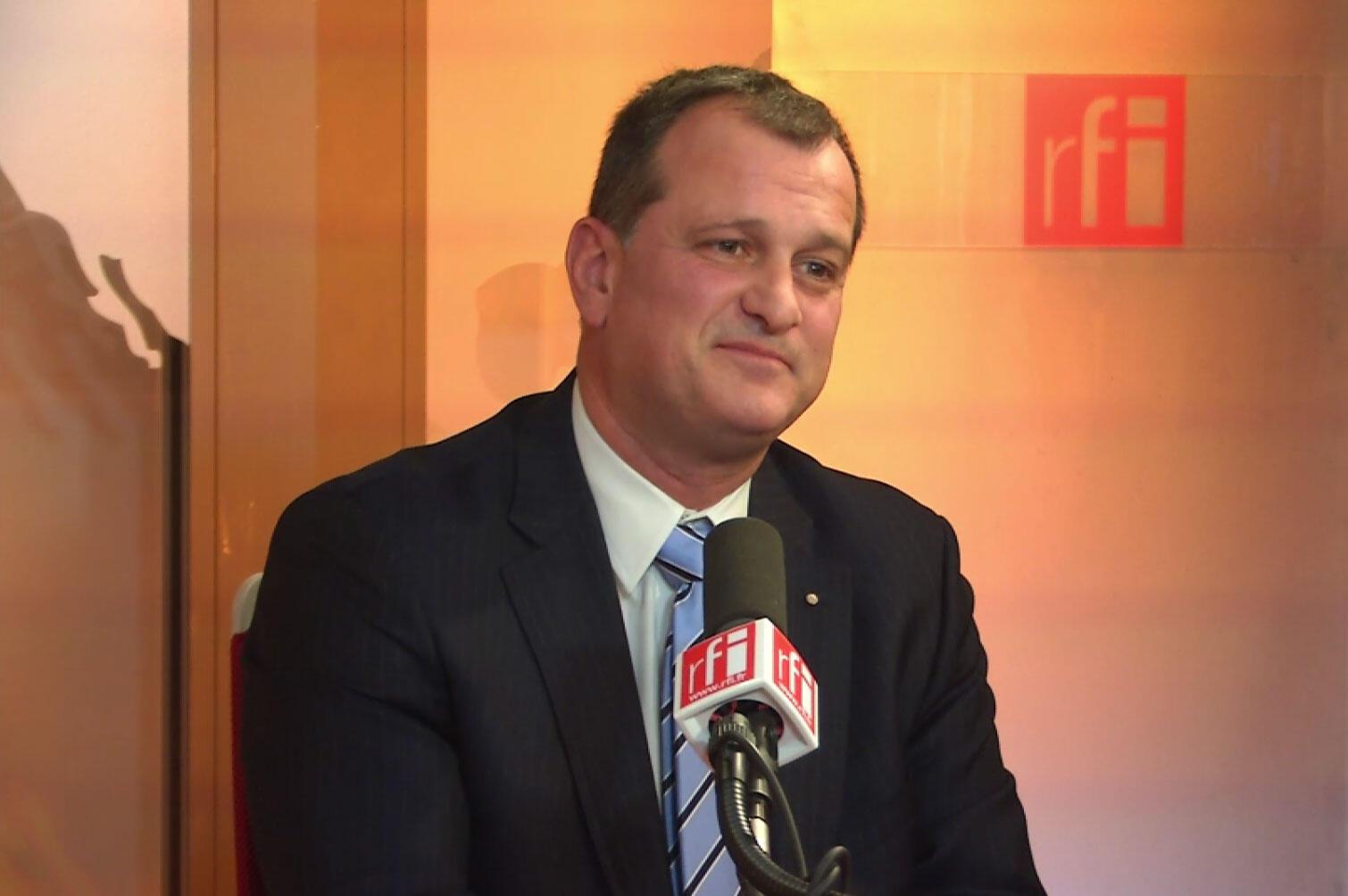 Louis Aliot, eurodéputé et vice-président du Front national.