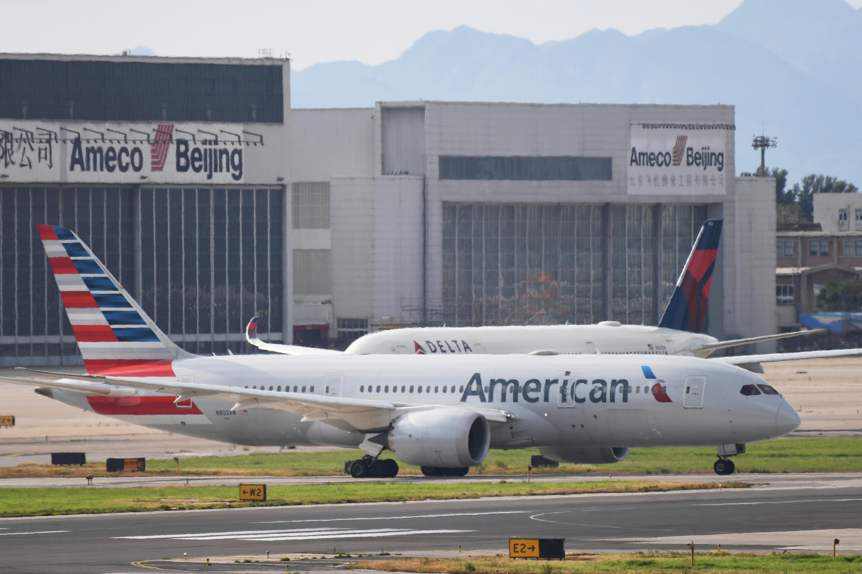China autoriza companhias dos EUA a retomar um voo semanal