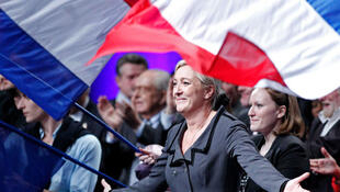 Marine Le Pen, newly elected France's far-right National Front political party leader