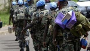 法军Serval行动结束后,联合国蓝盔军拟支援打击马里伊斯兰激进组织的任务。