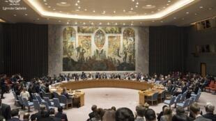 نشست شورای امنیت سازمان ملل متحد، از تاریخ ٤ مهر/ ٢۶ سپتامبر ٢٠۱٨ که به ریاست دونالد ترامپ، رئیس جمهوری آمریکا تشکیل میشود، به منع گسترش سلاحهای هستهای، قانونگرائی و حق حاکمیت ملّی، اختصاص دارد. (عکس تزئینی است)