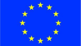 La drapeau européen.