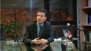 Sébastien Maillard est le directeur de l'institut Jacques Delors.