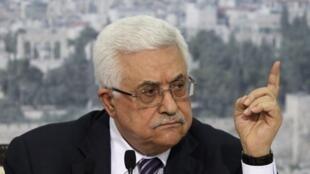 Mahmud Abas, presidente de la Autoridad Palestina