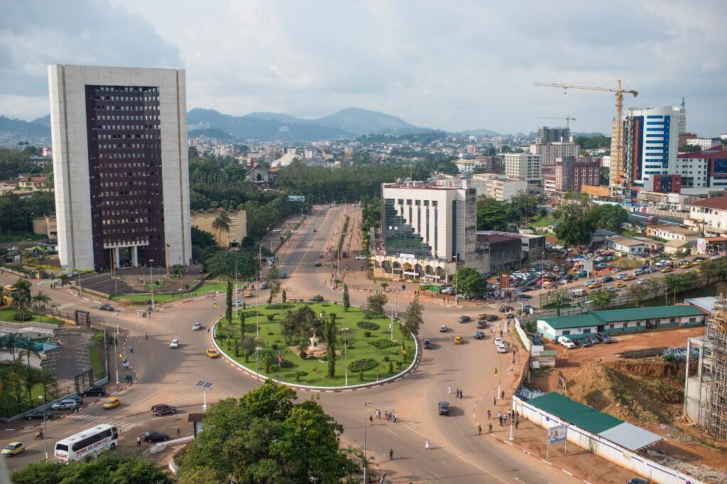 Une vue aérienne de Yaoundé, au Cameroun (image d'illustration).