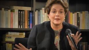 Antiga Presidente Brasileira Dilma Rousseff hoje em Lisboa