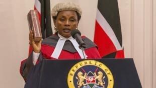 Naibu Jaji Mkuu wa Kenya, Jaji Philomena Mwilu amekamatwa leo Agosti 28 mwaka 2018