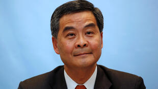 Prominent surveyor and former government advisor Leung Chun-ying attends a forum for chief executive candidates in Hong Kong March 12, 2012.