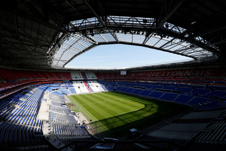 Sân vận động Groupama ở Lyon, nơi diễn ra trận chung kết Cúp Thế giới bóng đã nữ ngày 07/07/2019. Ảnh chụp ngày 17/04/2019.