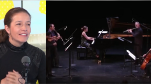 La pianista Edith Ruiz en Escala en París