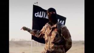 Un jihadiste du groupe Etat islamique.