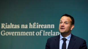 El jóven primer ministro de Irlanda, Leo Varadkar, de centro-derecha, anuncia ante la prensa la organización de un referendo sobre aborto a finales de mayo. 29 de enero de 2018