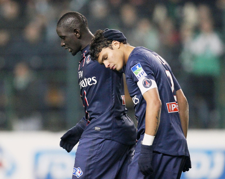 Thiago Silva do Paris Saint Germain