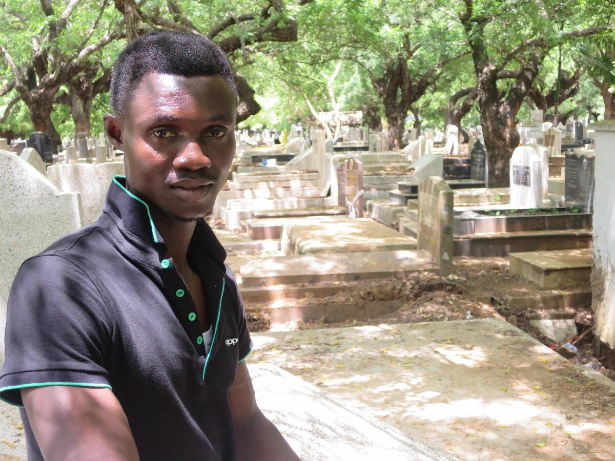 Martin Kyere est le seul survivant connu du massacre des migrants en 2005.